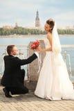 невеста букета к Стоковое Изображение