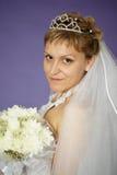 невеста букета цветет белизна Стоковые Фотографии RF