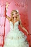 Невеста в изображении кукол Стоковые Фотографии RF