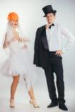 Невеста в шлеме стоковая фотография rf