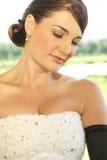 невеста застенчивая Стоковые Фото