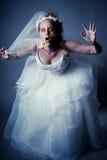 Невеста зомби Стоковые Фотографии RF