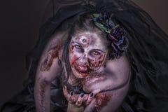 Невеста зомби Стоковые Изображения