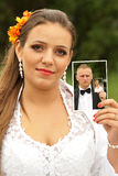 Невеста и groom   Стоковая Фотография RF