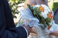Невеста и groom Стоковая Фотография
