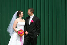 Невеста и Groom Стоковые Фотографии RF