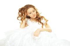 невеста красотки унылая Стоковое Фото