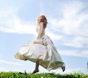 Невеста напольная Стоковые Изображения RF