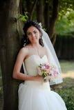 невеста напольная Стоковая Фотография
