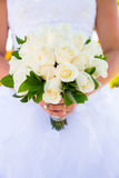 Невеста на ее день свадьбы Стоковое Изображение