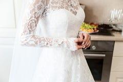 Невеста перед свадьбой, Стоковые Изображения RF