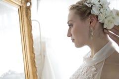 Невеста предыдущей формулы Стоковая Фотография