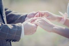 Невеста принимает Стоковое Изображение RF