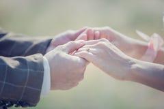 Невеста принимает Стоковая Фотография RF