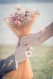 Невеста принимает Стоковое фото RF