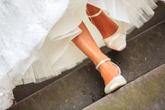 невеста приходит здесь Стоковое Изображение RF