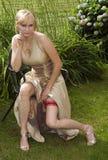 невеста сексуальная стоковое фото