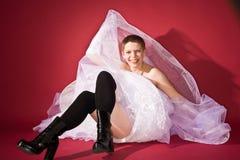 невеста смешная Стоковое Изображение