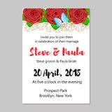 невеста смогите прочесать карточки приветствуя венчание кец панелей приглашений groom используемое шаблоном Стоковое Фото