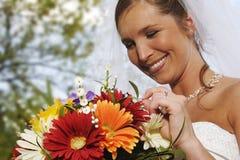 невеста счастливая Стоковое фото RF