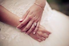Невеста с букетом Стоковые Изображения