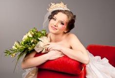 невеста творческая Стоковая Фотография RF