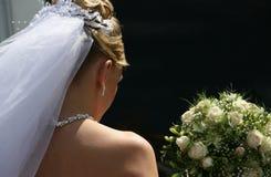 невеста унылая стоковое фото rf