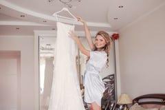 Невеста утра Стоковое фото RF