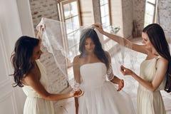 невеста чувственная стоковые фотографии rf