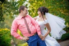Невеста для groom на свадьбе Стоковая Фотография RF