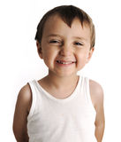 невиновный портрет малыша Стоковая Фотография