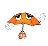 Невиновный шарж зонтика Стоковая Фотография