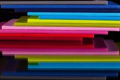 12 дневников других цветов Стоковое фото RF