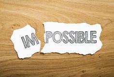 Невозможный Стоковые Изображения