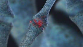 неврон иллюстрация вектора
