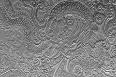 Негашеная известь картины дракона Стоковая Фотография RF