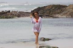 Нега пляжа Стоковое Фото