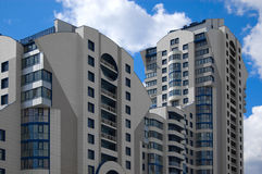 недавняя дома развития города самомоднейшая multistory Стоковые Фото
