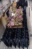 неделя Испании святейших шествий вероисповедная Стоковое Изображение