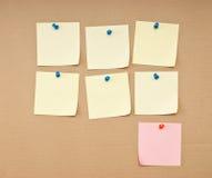 неделя план-графика типов Стоковое Изображение