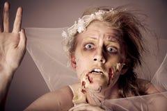 Нежити невесты зомби Стоковые Фото