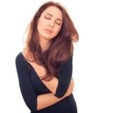 Нежная женщина Стоковая Фотография RF