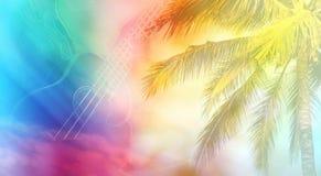 Нежность лета ослабляет настроение для предпосылки Стоковые Фото