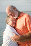 нежность старшия влюбленности пар Стоковое фото RF