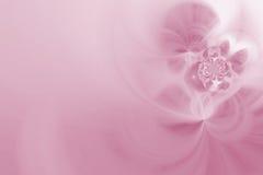 нежность фракталей розовая Стоковое фото RF