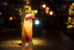нежность льда питья коктеила померанцовая Стоковая Фотография