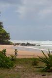 Нежный день на пляже Haena Стоковое Изображение RF