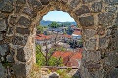 Незабываемые каникулы в Черногории Стоковая Фотография RF