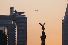 Независимость Анджел, Мехико Стоковая Фотография RF