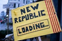 Независимость для Каталонии стоковая фотография rf